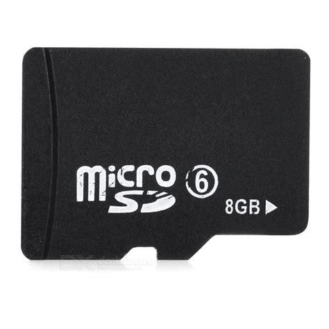 Microsd 8gb Class 6 מוצר micro sd tf memory card black 8gb class 6