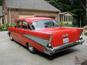 57 chevy bel air 4 door sedan