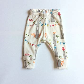baby leggings pattern with cuff shop woodland baby fabric on wanelo
