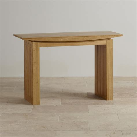 oak console tokyo console table in solid oak oak furniture land