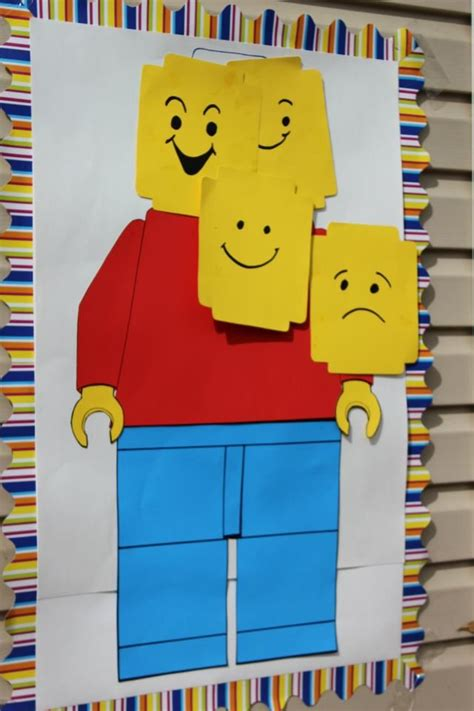 printable lego games pin the head on the lego man reading facial expressions