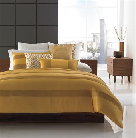 mustard comforter hotel collection bedding palace contemporary bedding