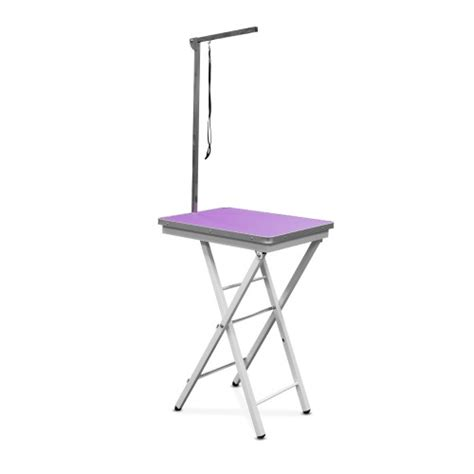 portable grooming table portable competition grooming table 60cm purple all groom