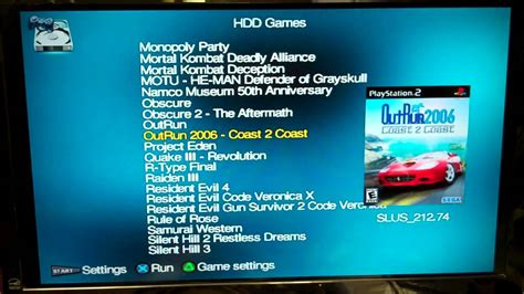 format game ps2 di harddisk old 500gb ps2 with 184 games on internal hard drive mod