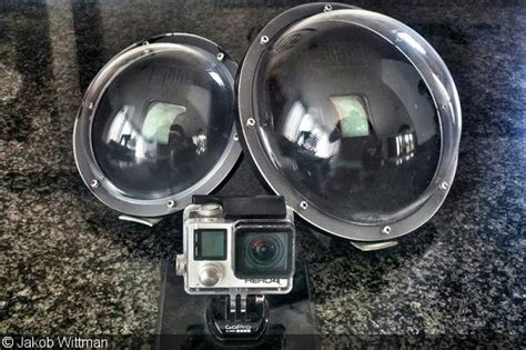diy gopro dome port step by step how to build youtube gopro over under photography