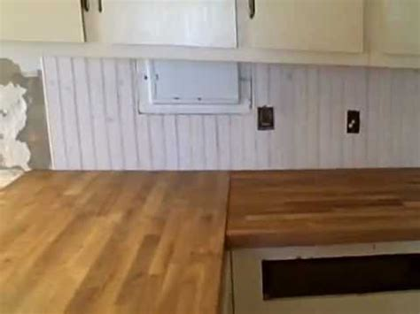 tongue and groove wainscot backsplash traditional farmtwenty youtube