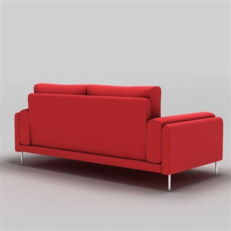sofa links link sofa 3 seat 3d model obj 3ds fbx c4d cgtrader