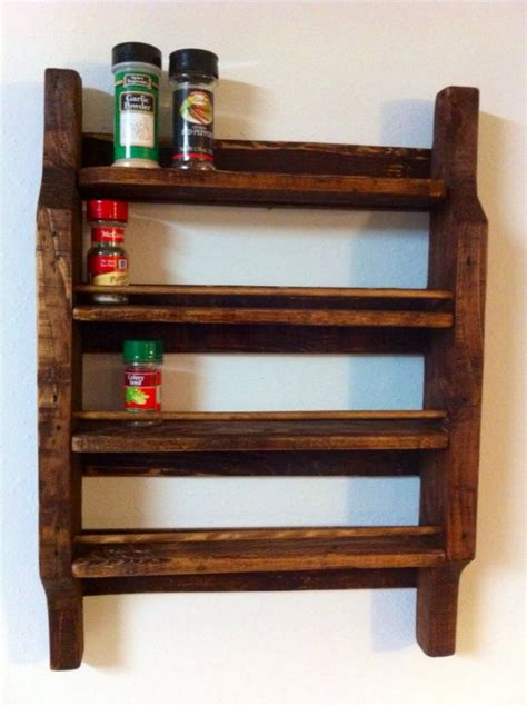 diy projects spice rack 23 diy projects from pallet wood
