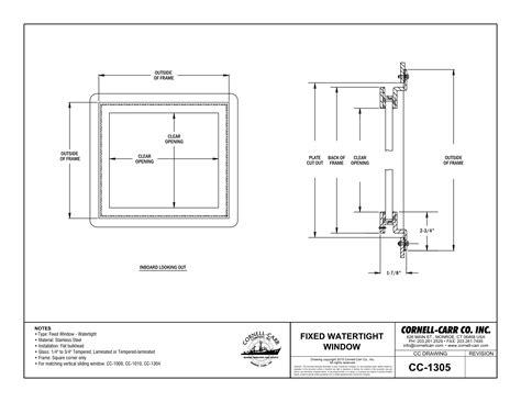 awning window symbol cc 1305 fixed watertight window outboard mount