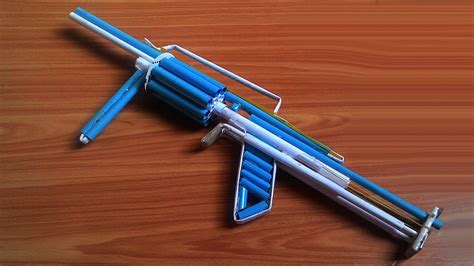 how to make a paper gun that shoots 8 bullets with