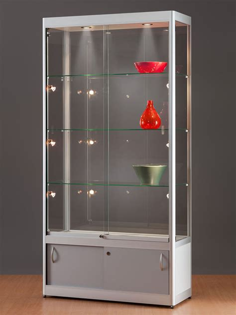 glasvitrine mit beleuchtung vitrinenschrank komplett beleuchtet vitrinenshop de