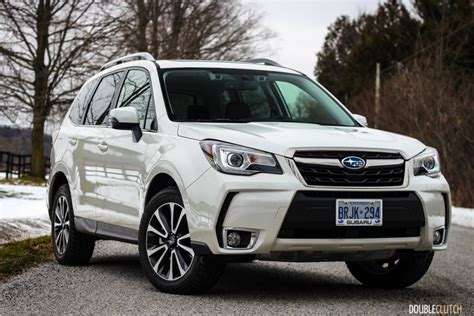 subaru forester 2017 white 2017 subaru forester 2 0xt limited doubleclutch ca