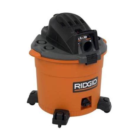 ridgid vac vacuum cleaner 16 gallon 5 hp blower ebay