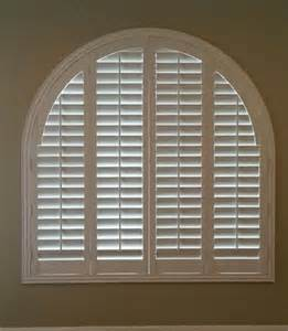 arch window shutters interior louvered arched poly shutter