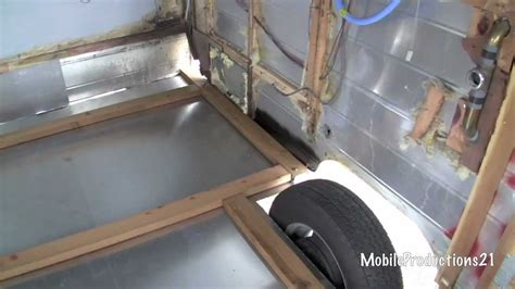 Travel Trailer Ceiling Repair by Travel Trailer Floor Replacement 2 4