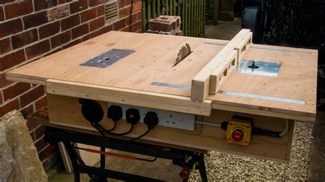 Table Saw With Built In Router And Inverted