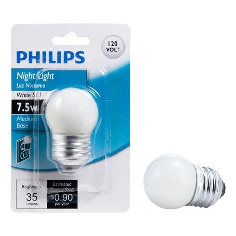 Lu Bohlam Philips 5 Watt philips 7 5 watt s11 incandescent white replacement