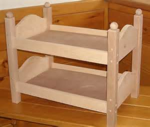 18 Doll Bunk Bed Handmade Bunk Bed For 18 Inch Doll