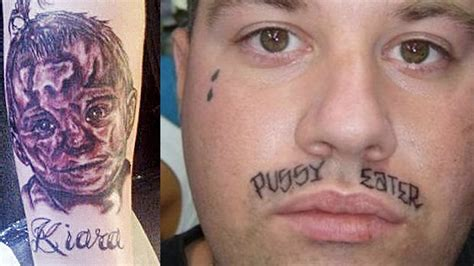bad tattoos worst of the worst top 10 worst tattoos
