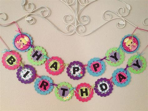 lalaloopsy birthday banner printable lalaloopsy party banner party ideas pinterest