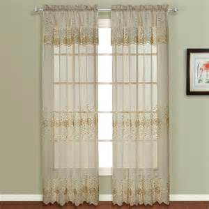 valance attached curtains curtain bath outlet marianna embroidered curtain with