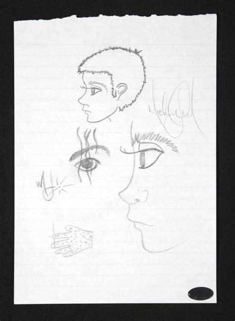 sketchbook journey michael jackson s drawings michael jackson ru