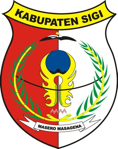 logo kabupaten sigi kumpulan logo indonesia