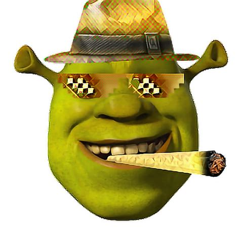 golden mlg shrek face bling shrek dank meme funny wow
