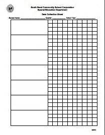 data collection sheet template pin by day on the schpsy in me