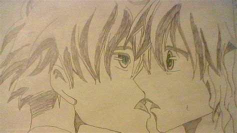 anime couples kissing sketches anime couple about to kiss by smiley30535 on deviantart