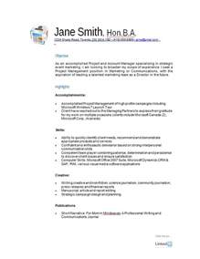 Resume Picture Examples Free Resume Samples A Variety Of Resumes