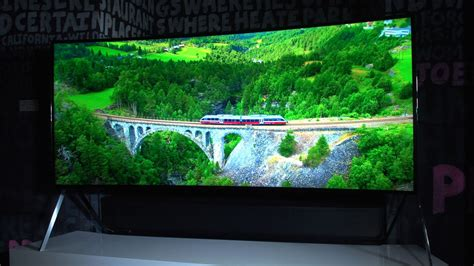 samsung shows 105 inch bendable lcd tv cnet