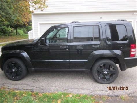 used jeep liberty 2008 purchase used 2008 black jeep liberty limited in novi
