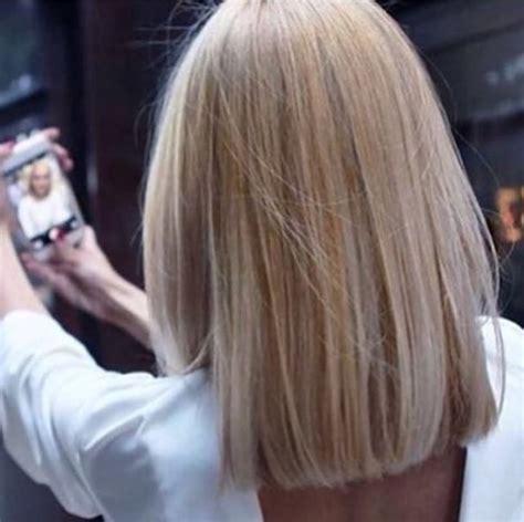 Blonde hairstyles straight hair long bob image 4715856 by derek ye on favim com