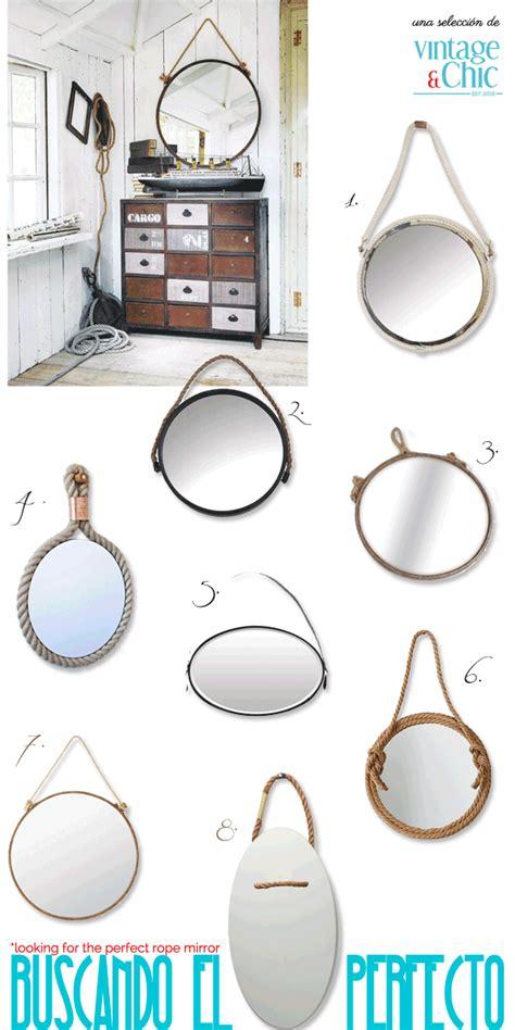 Decor Ideas For Bathrooms Espejos Con Cuerda Ideas Shopping Amp Diy 183 Mirrors