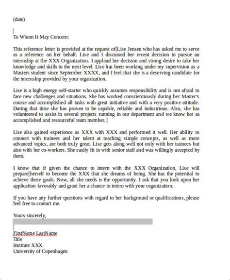 7 sle coworker recommendation letter free sle exle format