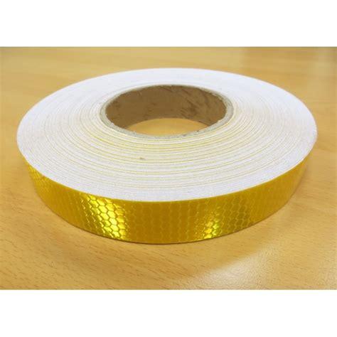triangle pattern reflective tape reflective tape gold yellow 25mm hexagon pattern