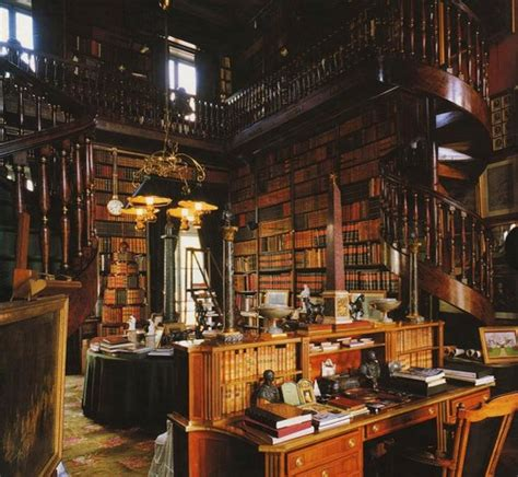 amazing Marie Antoinette Decorating Style #2: old+private+library.jpg