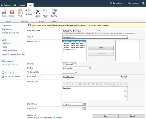 sharepoint 2010 task workflow build a better nintex workflow assign to do task form