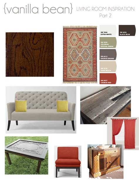 vanilla bean living room inspiration part 3