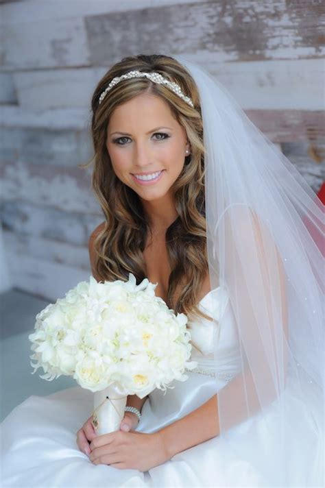 bridal hairstyles with headband and veil best bridal hair style with veil weddings eve