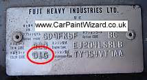 Subaru Paint Codes Subaru Touch Up Paint Kits Car Paint Wizard