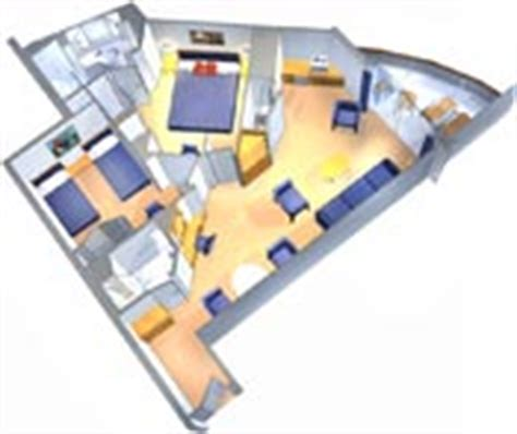royal caribbean two bedroom suite two bedroom suite on serenade of the seas royal caribbean international