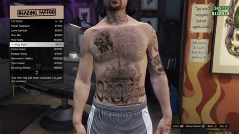 tattoo gta v online gta v online the 17 new male female lowrider tattoos