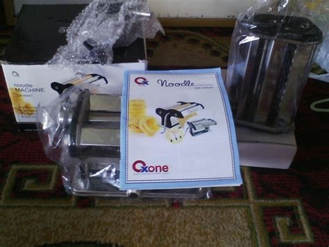 Terbaru Oxone Pasta Noodle Machine Ox 355 At oxone stainless noodle machine ox355at murah