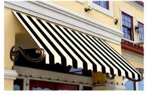 the striped awning ornamental and functional queso suizo
