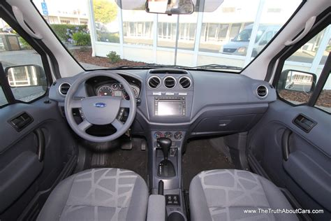 2012 ford transit connect interior dashboard