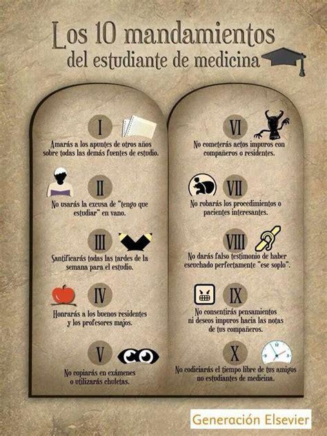 imagenes inspiradoras medicina 10 mandamientos del estudiante de medicina medicine