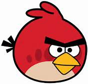 How To Draw Red Angry Bird From Birds Games With Easy Steps