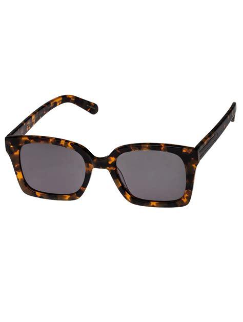 Sunglasses Walker Walker Brown Praise Keeper Sunglasses With Pouch